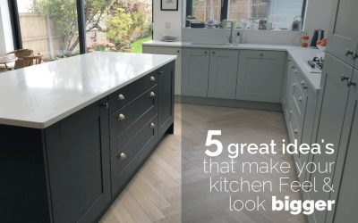 5 Great Ideas That Make Your Kitchen Look and Feel Bigger