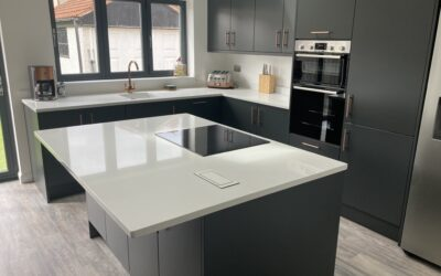 A Modern / Contemporary Kitchen Designed & Fitted